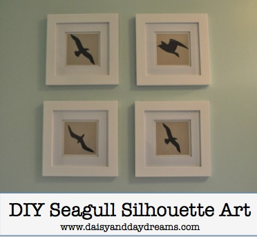 DIY Seagull Art