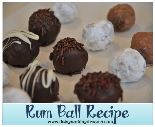 Rum balls recipes easy