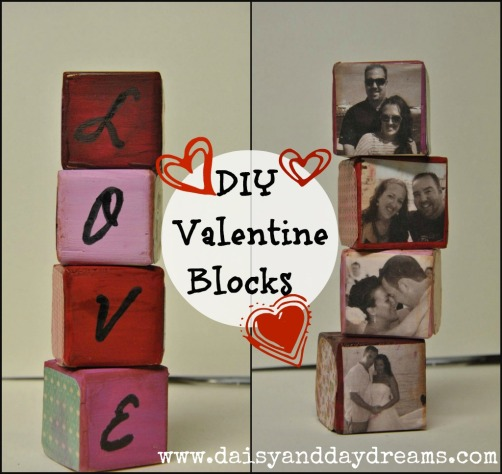 Valentine Decor DIY {Love Blocks}