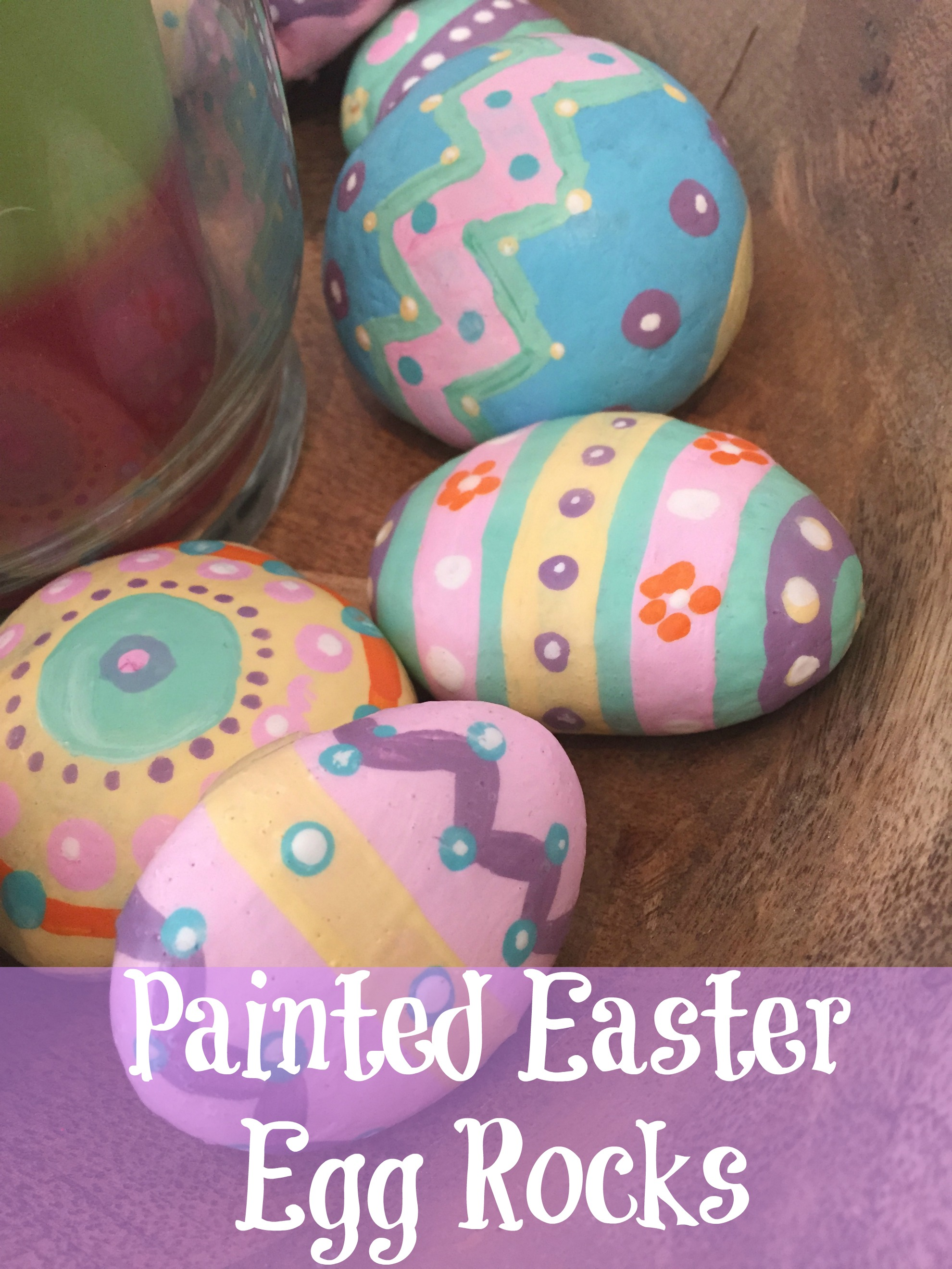 Painted Easter Egg Rocks Daisy amp Daydreams